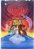 Animation Art:Presentation Cel, GoBots: Battle of the Rock Lords Publicity Cel andBackground (Hanna-Barbera, 1986)....