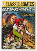 Golden Age (1938-1955):Classics Illustrated, Classic Comics #9 Les Miserables First Edition (Gilberton, 1943)Condition: VG....