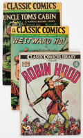 Golden Age (1938-1955):Classics Illustrated, Classic Comics Group of 18 (Gilberton, 1942-48).... (Total: 18Comic Books)