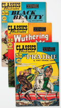 Golden Age (1938-1955):Classics Illustrated, Classics Illustrated First Editions Group of 7 (Gilberton,1949).... (Total: 7 Comic Books)