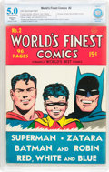 Golden Age (1938-1955):Superhero, World's Finest Comics #2 (DC, 1941) CBCS Restored VG/FN 5.0 (Slight) Off-white to white pages....