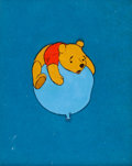 Animation Art:Production Cel, Winnie the Pooh and the Honey Pot Production Cel (WaltDisney, 1966)....