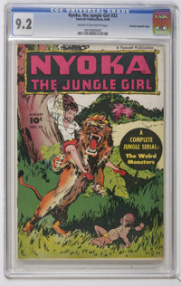 Nyoka the Jungle Girl #22 (Fawcett Publications, 1948) CGC NM- 9.2 Cream to off-white pages