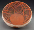 American Indian Art:Pottery, A Pinedale Polychrome Bowl . c. 1100 - 1250 AD...