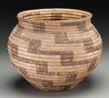 American Indian Art:Baskets, A Papago Coiled Jar...