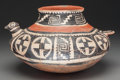 American Indian Art:Pottery, A Tonto Polychrome Bird Effigy Jar . c. 1250 - 1450 AD...