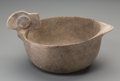 American Indian Art:Pottery, A Mississippian Wood Duck Bowl. c. 1000 - 1400 AD...