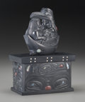 American Indian Art:Wood Sculpture, A Haida Carved Argillite Box . Christian White. c. 2001...