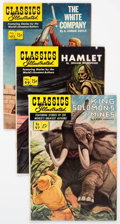 Silver Age (1956-1969):Classics Illustrated, Classics Illustrated First Editions Group of 11 (Gilberton,1952-53) Condition: Average VF-.... (Total: 11 Comic Books)