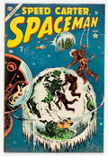 Golden Age (1938-1955):Science Fiction, Spaceman #5 (Atlas, 1954) Condition: FN+....
