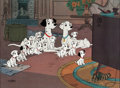 Animation Art:Limited Edition Cel, 101 Dalmatians Limited Edition Cel #107/500 (Walt Disney,1961/91)....