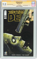 Modern Age (1980-Present):Horror, The Walking Dead #1 Wizard World Pittsburgh Edition - SignatureSeries (Image, 2015) CGC NM/MT 9.8 White pages....