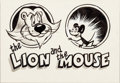 Animation Art:Production Drawing, The Lion and the Mouse Storyboard Group of 20 (MaxFleischer, c. 1940).... (Total: 20 )