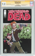Modern Age (1980-Present):Horror, The Walking Dead #1 Wizard World Tulsa Edition - Signature Series(Image, 2015) CGC NM/MT 9.8 White pages....