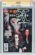 Modern Age (1980-Present):Science Fiction, X-Files #18 Signature Series (Topps Comics, 1996) CGC NM/MT 9.8White pages....