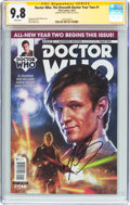 Modern Age (1980-Present):Science Fiction, Doctor Who: The Eleventh Doctor Year Two #1 Signature Series (TitanComics, 2015) CGC NM/MT 9.8 White pages....