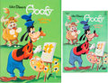 Animation Art:Production Drawing, Goofy Coloring Book #2946 Cover Illustration (Whitman, c. 1950s)....