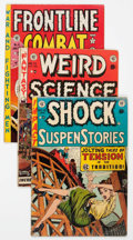Golden Age (1938-1955):Science Fiction, EC Comics Group Group of 4 (EC, 1950s) Condition: Average GD/VG....(Total: 4 Comic Books)