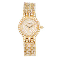 Concord Lady's Diamond, Gold Les Palais Watch