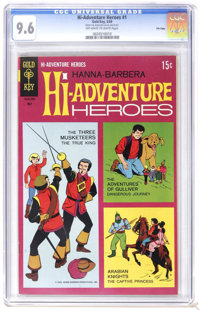 Hi-Adventure Heroes #1 - File Copy (Gold Key, 1969) CGC NM+ 9.6 Off-white to white pages