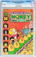 Bronze Age (1970-1979):Cartoon Character, Richie Rich Money World #9 (Harvey, 1974) CGC NM/MT 9.8 Off-white to white pages....