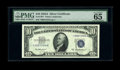 Small Size:Silver Certificates, Fr. 1707* $10 1953A Silver Certificate. PMG Gem Uncirculated 65 EPQ.. This is easily one of the nicest examples of this scar...