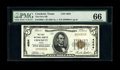 Crockett, TX - $5 1929 Ty. 1 The First NB Ch. # 4684 Always a popular bank name because of its reference to the legenda...