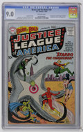 Silver Age (1956-1969):Superhero, The Brave and the Bold #28 (DC, 1960) CGC VF/NM 9.0 Off-whitepages....