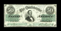 Confederate Notes:1862 Issues, T50 PF-19 $20 1861. This is a simply stunning Jeff Davis, withgreat centering on both sides, kept to a grade of Crisp Unc...