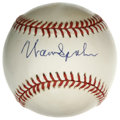 Autographs:Baseballs, Warren Spahn Single Signed Baseball. Long-time Braves ace WarrenSpahn has made the ONL (White) orb we see here the benefac...