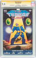 Modern Age (1980-Present):Superhero, Thanos Quest #1 Signature Series (Marvel, 1990) CGC NM 9.4 Whitepages....