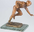 Football Collectibles:Others, Circa 1960's-1970's Football Statue. ...