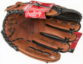 Baseball Collectibles:Others, Bernie Williams Signed Glove. ...