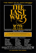 "Movie Posters:Rock and Roll, The Last Waltz (United Artists, R-2002). One Sheet (27"" X 39.75"")DS Advance. Rock and Roll.. ..."