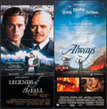 "Movie Posters:Drama, Legends of the Fall & Others Lot (Tri-Star, 1994). Australian Daybills (3 ) (Approx. 13.25"" X 25.5"" & 13"" X 27""). Drama.. ... (Total: 3 Items)"
