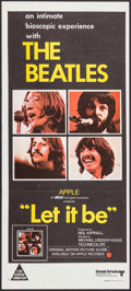 """Movie Posters:Rock and Roll, Let It Be (United Artists, 1970). Australian Daybill (13.25"""" X29.75""""""""). Rock and Roll.. ..."""
