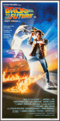 "Movie Posters:Science Fiction, Back to the Future (Universal, 1985). Australian Daybill (13"" X26.75""). Science Fiction.. ..."