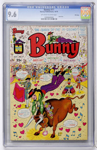 Bunny #17 - File Copy (Harvey, 1970) CGC NM+ 9.6 Off-white to white pages