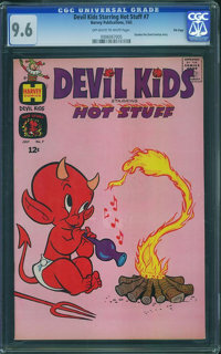 Devil Kids Starring Hot Stuff #7 - File Copy (Harvey, 1963) CGC NM+ 9.6 Off-white to white pages