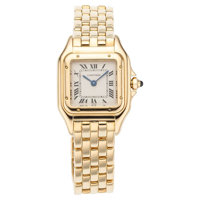 Cartier Lady's Gold Panther Watch