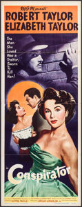 "Movie Posters:Adventure, Conspirator (MGM, 1949). Insert (14"" X 36""). Adventure.. ..."