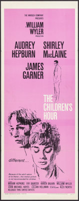 "The Children's Hour (United Artists, 1962). Insert (14"" X 36""). Drama"