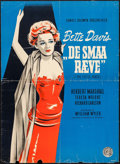 """Movie Posters:Drama, The Little Foxes (Constantin, 1949). First Post-War Release Danish Poster (24.25"""" X 33.5""""). Drama.. ..."""