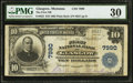 National Bank Notes:Montana, Glasgow, MT - $10 1902 Plain Back Fr. 625 The First NB Ch. # 7990....