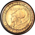 1915-S $50 Panama-Pacific 50 Dollar Round -- Tooled -- PCGS Genuine. AU Details....(PCGS# 7451)