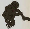 Animation Art:Production Cel, The Lord of the Rings Gollum Production Cel and AnimationDrawing (Ralph Bakshi, 1978). ... (Total: 2 )