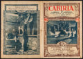 """Movie Posters:Adventure, Cabiria & Others Lot (R-1931). Italian Program (8 Pages, 11"""" X15.5""""), Photos (18) (6.5""""-8"""" X 9""""-10"""") & Trimmed Photo(8.75""""... (Total: 20 Items)"""