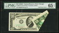 Error Notes:Foldovers, Fr. 2014-G $10 1950D Federal Reserve Note. PMG Gem Uncirculated 65EPQ.. ...