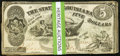 Obsoletes By State:Louisiana, Baton Rouge, LA- State of Louisiana $5(15) Oct. 10, 1862 Cr. 10. Shreveport, LA- State of Louisiana $5(10) Mar. 10, 1863... (Total: 25 notes)