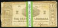 Obsoletes By State:Louisiana, Shreveport, LA- State of Louisiana $1 Mar. 1, 1864 Cr. 15(6); Cr. 18(19). ... (Total: 25 notes)